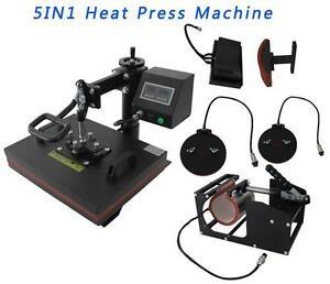 5IN1 Heat Press Machine 000122