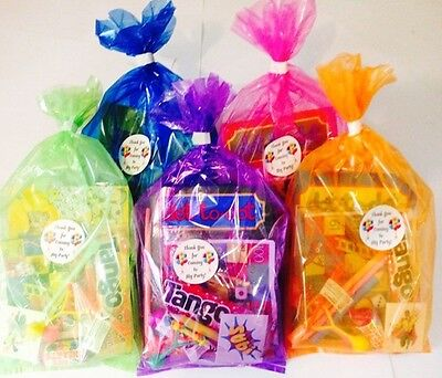 Children's Pre Filled Party Bags Thank You For Coming 12 - Items For Party Bags