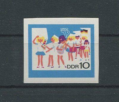 DDR PH 1432 PIONIERE 1968 PHASENDRUCK Mi 100.- MUSIC SCOUTS PROOF RARE!! d886