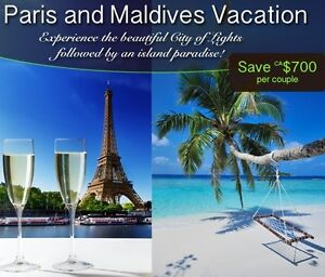 Paris & Maldives with Air from Saint John in 2018