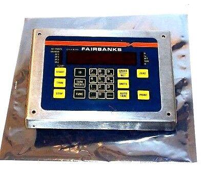 Used Fairbanks 18164 Pc Board W Digital Front Panel Display