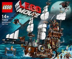 Lego 70810: Lego Movie Metalbeard's Seacow. New&Sealed. Rare and AWESOME! BNISB