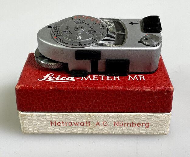 Leica Exposure Light Meter MR-4 MR4 For M2 M3 M4 Original Box
