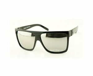 Retro-Black-Madness-Oversized-Wayfarer-Mens-Womens-Full-Mirror-Lens-Sunglasses
