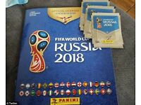 Panini 2018 World Cup Stickers - various numbers for sale - FREE POST