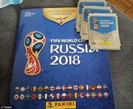 PANINI FIFA WORLD CUP RUSSIA 2018 STICKERS - Swaps