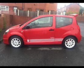 2009 Citroen C2 VTR replica 12 MONTH MOT & Serviced