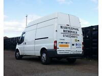 Hartlepool Removals & Storage, Man with a van for hire, Low Cost Professional Service