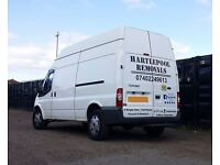 Hartlepool Removals & Storage | Man with a van for hire | House Clearance | Professional Service