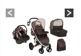 Baby pram 3 in one