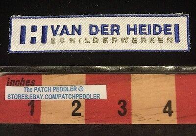German Language Patch Germany ~ Van Der Heide SCHILDERWERKER (Craftsman) 623