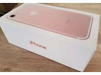 BRAND NEW APPLE IPHONE 7 128GB ROSE GOLD EE / ORANGE / T MOBILE NETWORK BARGAIN