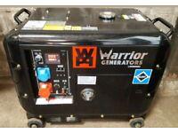 WARRIOR LDG6000S3 6.5KVA/6KW 3 PHASE DIESEL GENERATOR