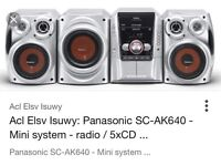 Panasonic sound system with sub £55
