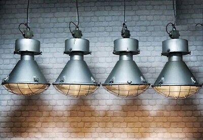 LOFT LAMPE Industrie Vintage echte Atelier Hängelampe Fabrik PN-LOFT GLOCKE XXL