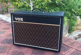 VOX AC15VR guitar amplifier