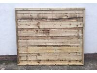 💦Heavy Duty Timber Wayneylap Fence Panels New • Pressure Treated