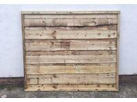 💥New Timber Wayneylap Fence Panels * Heavy Duty