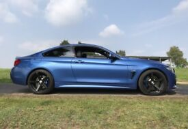 BMW 435i M Sport Plus, Estoril Blue 4 series bmw 435