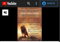 Stand and Roar Protest Of Unrighteousness