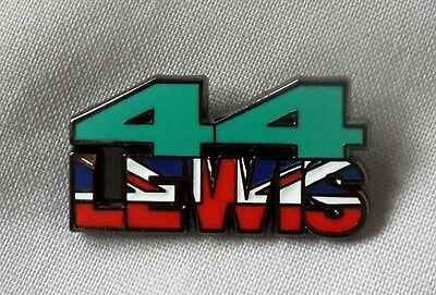 *NEW* Lewis Hamilton 44 enamel badge. Hammer Time, F1, Formula One, Silverstone.