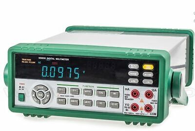 Bench Digital Multimeter 5 Digit High Accuracy Auto Calibrating 10 Diff. M...