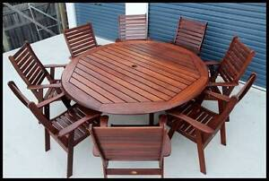 Quality (9 pce)   KWILA OUTDOOR DINING SETTING Brisbane City Brisbane North West Preview