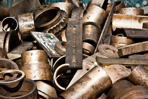 Will pick up old scrap metals free of charge