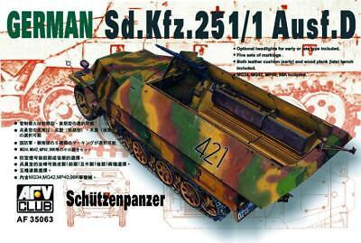 AFV Club 1/35 German Sd.Kfz.251/1 Ausf.D Schutzenpanzer 35063