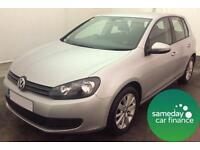 £144.45 PER MONTH - 2011 VOLKSWAGEN GOLF1.6 TDI 105MATCH HATCHBACK MANUAL DIESEL