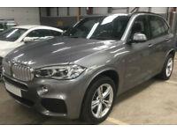 Grey BMW X5 3.0TD Steptronic 2016 xDrive40d M Sport FROM £175 PER WEEK!