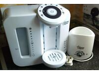 Tommee Tippee preparing machine & FREE bottle warmer