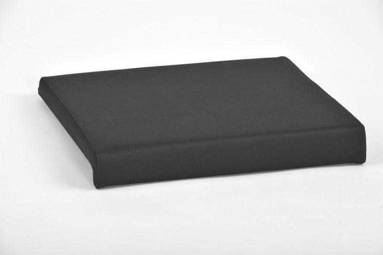 Klemmkissen 1 Leiste (kein verrutschen) schwarz Kunstleder 100.000 Scheuertouren
