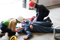 Save $200 on an Advanced First Aid course in Red Deer!