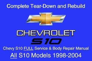 2000 s10 repair manual pdf