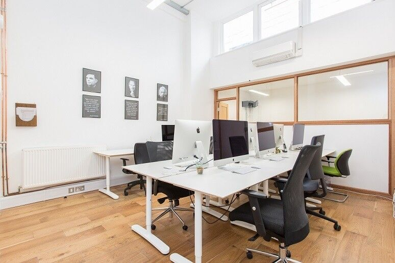 Title: Silicone Roundabout-N1 - Up to 12 People-Newly Refurbished Media Style Office– Flexible Terms