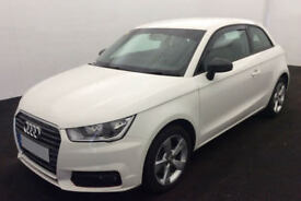 WHITE AUDI A1 1.0 1.2 1.4 T FSI SE SPORT S LINE BLACK EDITION FROM £57 PER WEEK!