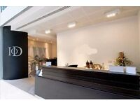 Office suites are available in a range of sizes from 100 to 22,600sqft