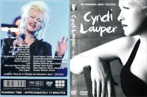 CYNDI LAUPER / 2011 JAZZ FESTIVAL IN SPAIN  DVD