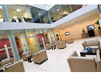 Office suites are available in a range of sizes from 100 to 22,600 sq ft