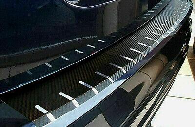 Carbon Chrom Ladekantenschutz für VW T- Cross  Carbonfolie 320µm stark