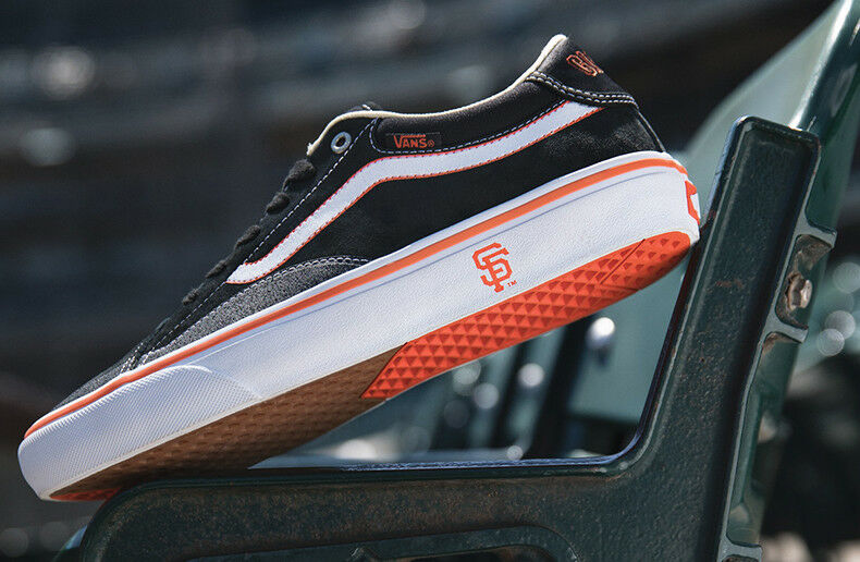 2bf1d5e1fb7 Details about SF GIANTS VANS TNT ADVANCED PROTOTYPE TONY TRUJILLO  (VN0A3XHGSF0) 9.0 LIMITED!