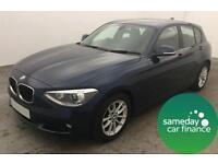 £174.14 PER MONTH 2012 BMW 116 1.6 EFFICIENTDYNAMICS 5 DOOR DIESEL MANUAL