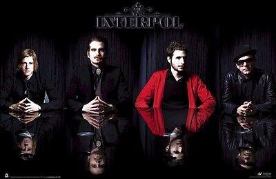 INTERPOL ~ REFLECTION GROUP 24x36 MUSIC POSTER Paul Banks Fogarino Kessler