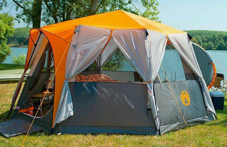 Coleman Cortes Octagon 8 Person Tent In Neath Neath