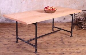 Industrial Style Pipe Leg Tables