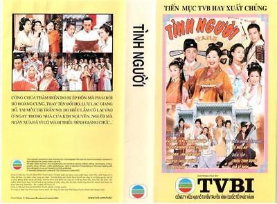TINH NGUOI 1,2,3,4,5 END - PHIM BO HONGKONG - 35 DVD -  USLT