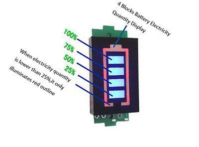 3s Lithium Battery Capacity Indicator Module 12.6v Tester Li-po Li-ion