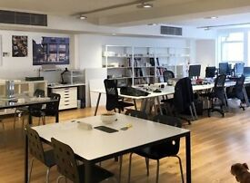 Soho office / meeting room available for hire by the desk