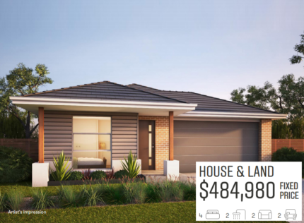 Eynesbury OFF PLAN turnkey house+land packages